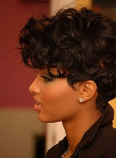 Groovy Curly Weave Hairstyles Curly Weaves And Weave Hairstyles On Pinterest Short Hairstyles Gunalazisus