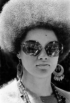 Image result for sunglasses black power afro
