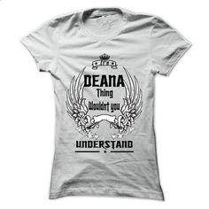 Is DEANA Thing - 999 Cool Name Shirt ! - #sweatshirt dress #sweatshirt pattern. BUY NOW => https://www.sunfrog.com/Outdoor/Is-DEANA-Thing--999-Cool-Name-Shirt-.html?68278
