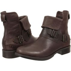 dd6b9863c1459d UGG Cybele (Lodge Leather) Women s Boots ( 146) ❤ liked on Polyvore  featuring shoes
