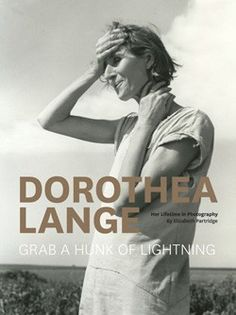 Dorothea Lange Here's the gorgeous cover designed by Chronicle, and info. about the book from their fall catalog.