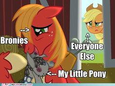Sadly its very true.very, very true My Little Pony Poster, My Little Pony Comic, Funny Logic, Funny Relatable Memes, Photo To Video, Mlp Memes, Best Cartoons Ever, Some Beautiful Pictures, Mlp Pony