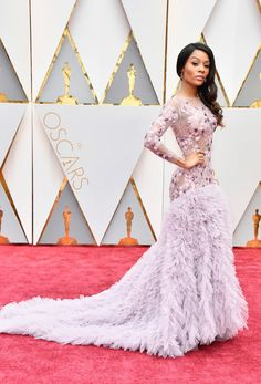 b1265ff97f8e03 Zuri Hall - 2017 Oscar Gowns That Could Double As Wedding Dresses - Photos  Los Oscar