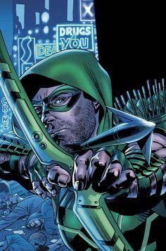 green arrow bryan hitch