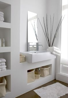 Bathroom | badkamer | white design