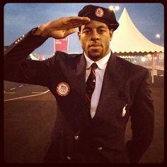 Andre Iguodala Double Clutch, Olympics Opening Ceremony, Andre Iguodala, Nba Stars, Eye Candy, Captain Hat, Handsome, Blazer, Hats