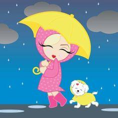 Singing in the rain....