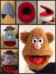 Knitting pattern for snowman hand puppet - philomath Felt Puppets, Puppets For Kids, Puppet Toys, Marionette Puppet, Puppet Crafts, Puppet Show, Finger Puppets, Die Muppets, Shark Puppet