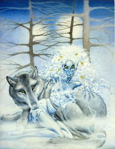 Goodtree of Elfquest by Wendy Pini