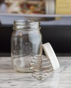 EcoJarz Shaker Whisk is a Worthy Attachment for a Mason Jar — Product Review -- beat eggs, whipped cream, salad dressing, pancake mix....