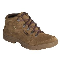 b35015254f24d Chaussure chasse light 500 imperméable marron