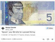 $5.00 Spock