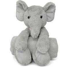 Little Starter Huggable Elephant with BONUS Plush Throw