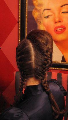 chola braids. Super cute! Gotta rock this
