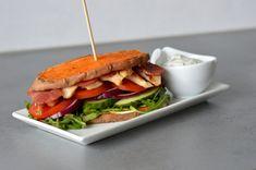 Bakekona - Lidenskap for en sunn livsstil Sweet Potato, Bacon, Sandwiches, Potatoes, Desserts, Food, Tailgate Desserts, Deserts, Potato