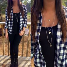Ways to Wear Flanel Outfit for Women - Fashion Best Look Fashion, Teen Fashion, Fashion Outfits, Womens Fashion, Fall Winter Outfits, Autumn Winter Fashion, Mode Outfits, Casual Outfits, Casual Clothes