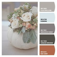 "Paint colors from Chip It! by Sherwin-Williams --- ""iceberg"" for bathroom paint color, master bedroom above"