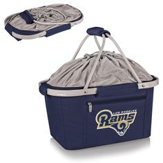 The Los Angeles Rams Metro Basket by Picnic Time