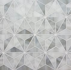 This sleek pattern will bring a 3D effect to your wall, modernizing and introducing a little excitement to your space.