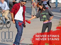 Comfortable, Stylish, Clean...ALWAYS! Truly Eco-Friendly Denim that helps SAVE 7200 GLASSES OF WATER per year.