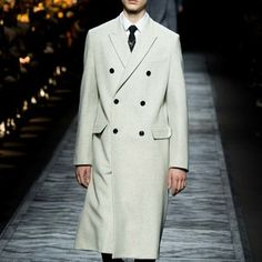 Dior Fall 15 Double Breated Coat
