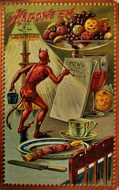 The devil's own menu