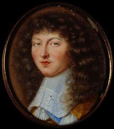 Louis XIV, roi de France, par Petitot