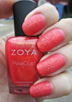 Concrete and Nail Polish: Zoya Destiny - Summer 2013 Pixie Dust