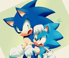 Quien gana? Modern Sonic o Classic Sonic?! ❤❤
