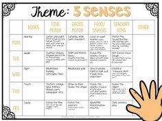 Webbing For Lesson Plans In Preschool Lesson Plan