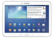 "SAMSUNG GALAXY TAB 3 - 10"" - White-Connect with friends and family, watch your favorite TV shows and movies on the go, or browse the web. The Samsung Galaxy Tab® 3 makes it easy to do all your favorite activities."