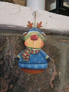 Christmas Reindeer Gnome Ornament FREE Shipping | Etsy Bird Christmas Ornaments, Gnome Ornaments, Christmas Cats, Christmas Ideas, Red Hats, One Color, Gnomes, Reindeer, Etsy Seller