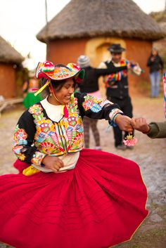 Dancing at Ccotos South America, Dancing, Style, Fashion, Lake Titicaca, Dance, Moda, Fashion Styles, Fashion Illustrations