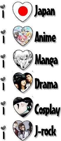 THIS is me, but I like j-music & japanese food too!!!! ^_^