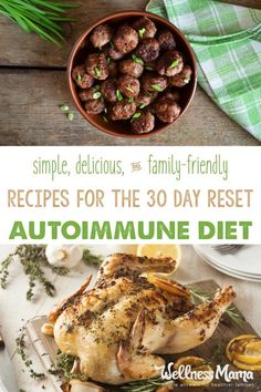 These autoimmune diet recipes are adaptions of my regular real food recipes to make them 30 Day Reset approved. Nut free, egg free, grain free, dairy free.