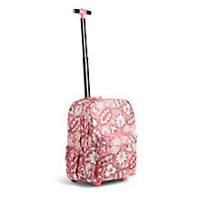 This favorite backpack style is offered with wheels! The straps tuck away when not in use, and a telescoping handle pops up to make this backpack into a bag on wheels. Short Vacation, Rolling Backpack, Parisian, Vera Bradley, Blush Pink, Water Bottles, Fashion Backpack, Paisley, Wheels