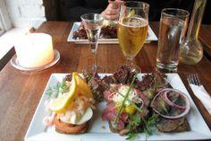 Café og Restaurant Madam Sprunck: 3 smørrebrød (Helsingør)