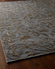 """""""Seraphina"""" Rug ~ Horchow  <3  oooh! Love this rug!"""