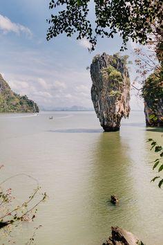 James Bond Island, Khao Ta-Pu, Thailand, Phuket.