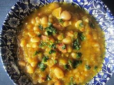 Leftover Ham Meal Ideas from Healthy Diet Habits - Ham and White Bean Soup Healthy Soup Recipes, Healthy Cooking, Real Food Recipes, Diet Recipes, Healthy Eating, Cooking Recipes, Ham And Beans, Ham And Bean Soup, Leftover Ham Recipes