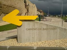 ** If anyone knows where this is please tag it. PS: Look at the storm black clouds! Spanish Sides, Black Clouds, St Jacques, Head And Heart, The Camino, Pilgrims, Pamplona, Ps, Arrow