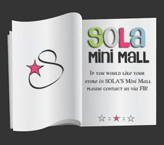 SOLA has some awesome shops listed in our Mini Mall! Start your holiday shopping right here with other small businesses owners like yourself!