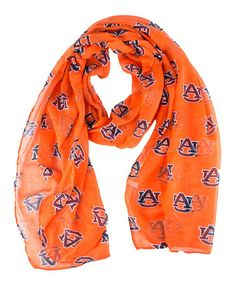 Take a look at this Auburn Logo Scarf by MascotWear on #zulily today!