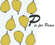 #illustration #peach #kitchen #fruit pears / by Taki Trik