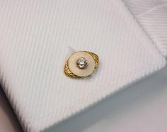 Marchak Antique Russian Enamel Diamond Gold Cufflinks   From a unique collection of vintage cufflinks at https://www.1stdibs.com/jewelry/cufflinks/cufflinks/
