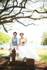 ハワイ結婚式オーダー新郎衣裳大阪梅田-5