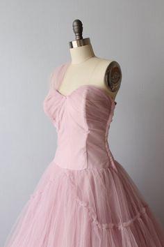 1950s Dress / Party Dress / Formal Dress / by TheVintageMistress
