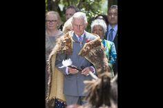 Prince Charles at Turangawaewae Marae in Waikato, November 8, 2015