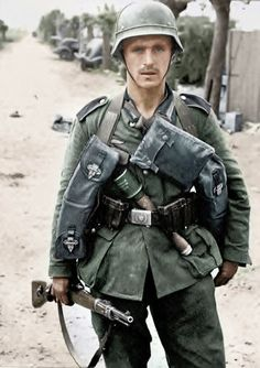 German soldier; Dunkirk, France, summer of 1940