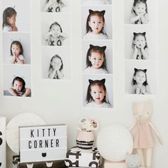 Giant Photostrips complimenting the cutest little kitty party put together by…